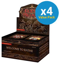 Flesh and Blood TCG: Welcome to Rathe Booster Case (Unlimited)