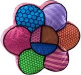 Romero Britto - Flower Pillow Medium