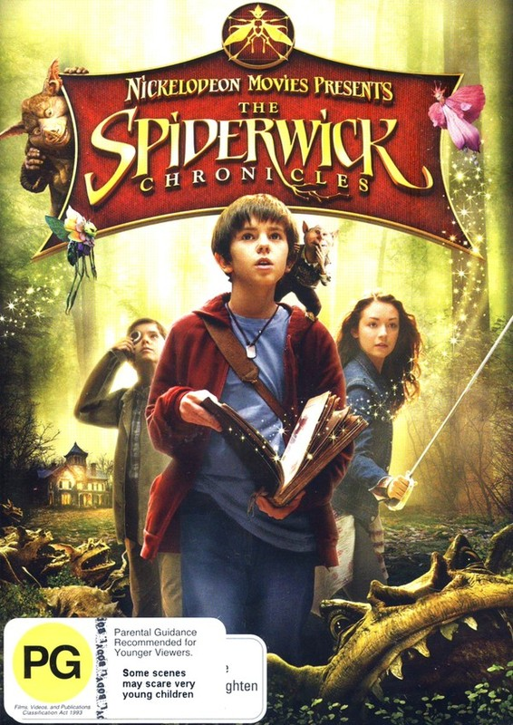 The Spiderwick Chronicles on DVD