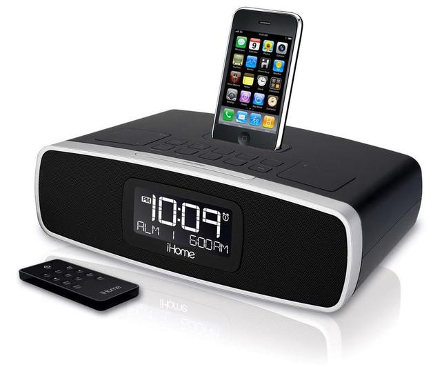 ihome ip90 high performance dual alarm am fm clock radio for iphone rh mightyape co nz iHome iD9 Ip86 iHome