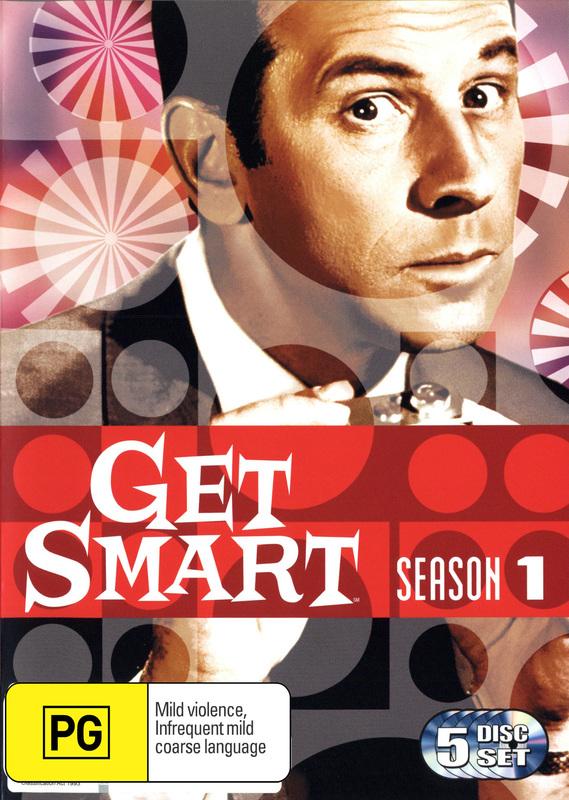 Get Smart (1965) - Season 1 (5 Disc Set) on DVD