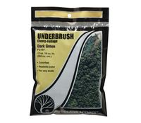 Woodland Scenics Dark Green Underbrush Bag