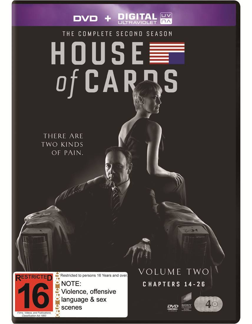 House of Cards - The Complete Second Season on DVD image