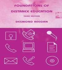 Foundations of Distance Education by Desmond Keegan image