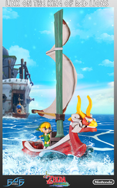 Legend of Zelda: Wind Waker - Link on King of Red Lions