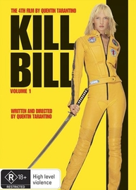 Kill Bill Volume 1 on DVD