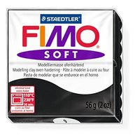 Staedtler Fimo Soft Modelling Clay Block - Black (56g)
