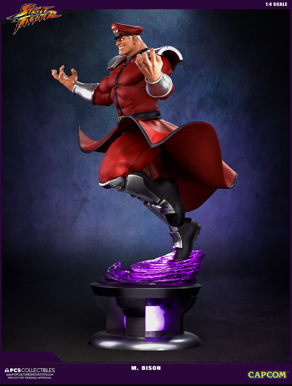 Streetfighter V - M Bison 1:4 Scale Statue image