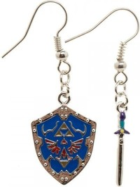Nintendo: Hylian Sword & Shield - Earring Set