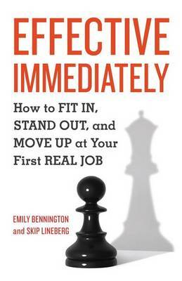 Effective Immediately by Emily Bennington