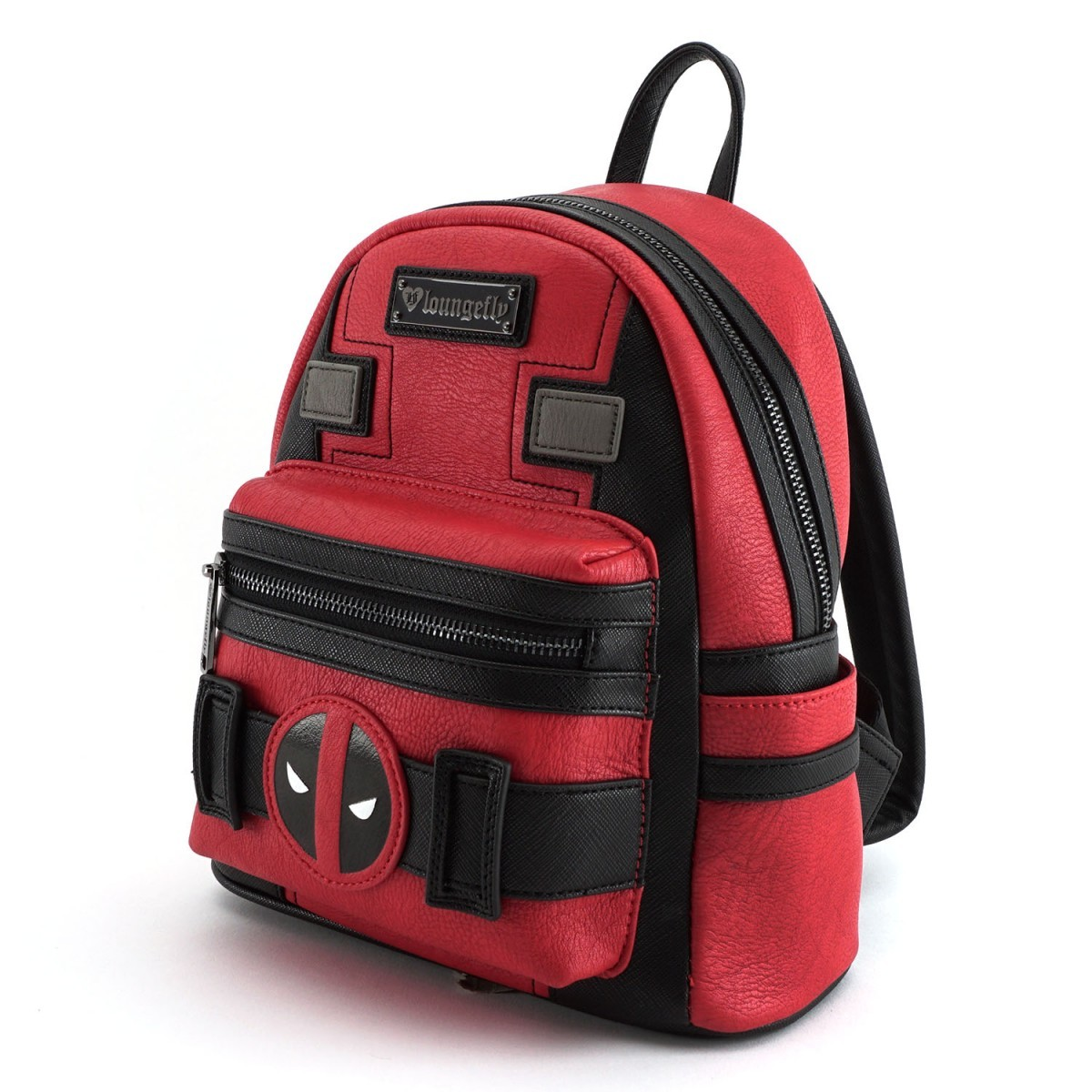 Loungefly Marvel Deadpool Suit Mini Backpack image