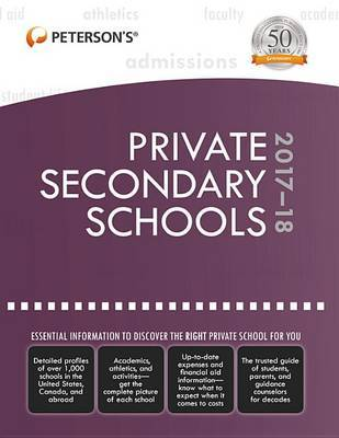 Private Secondary Schools 2017-18 by Peterson's