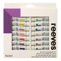 Reeves Water Mixable Oil Colour Paints - Set of 18 (10ml)
