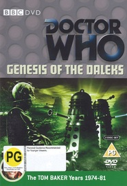 Doctor Who: Genesis of the Daleks on DVD