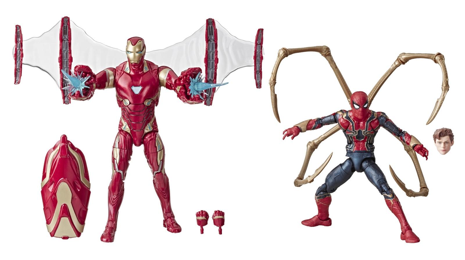 Marvel Legends: Action Figure 2-Pack - Iron-Man (Mark 50) & Iron Spider image