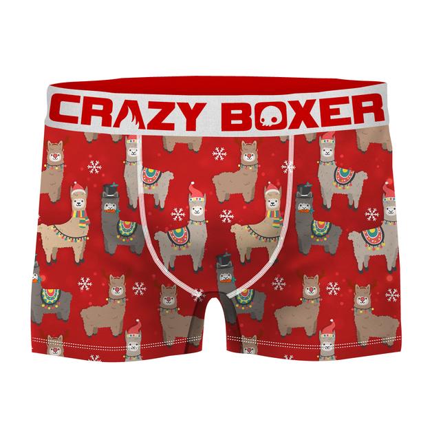 Crazy Boxer: Fa La La Lllama Boxers - Large