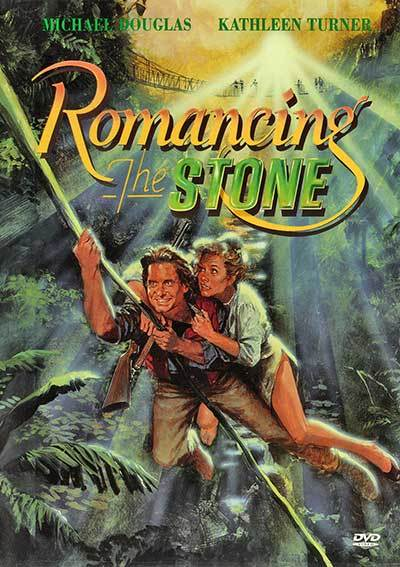 Romancing The Stone on DVD image