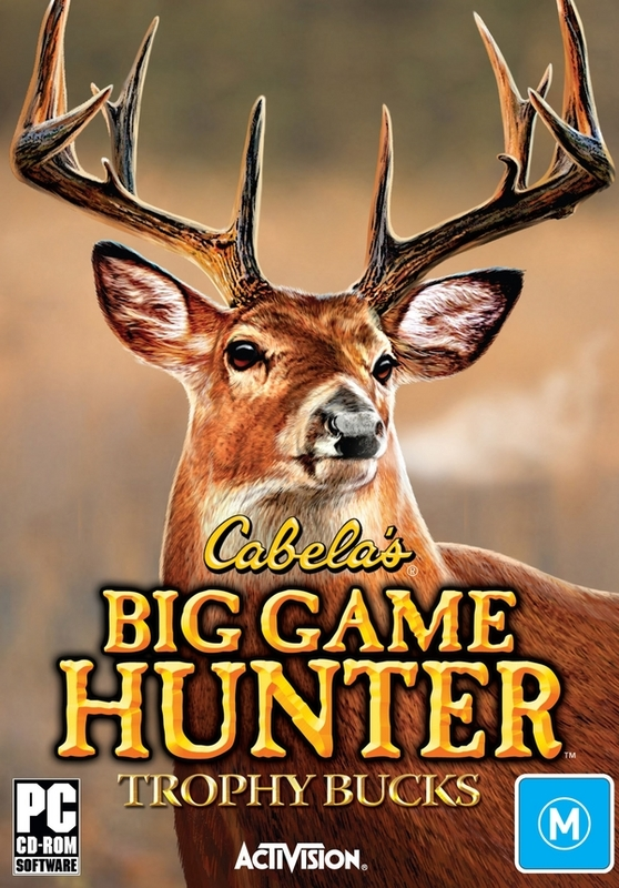 Cabela's Big Game Hunter - Trophy Bucks for PC Games