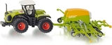 Siku Claas Xerion Tractor With Amazone Cayena 6001 Seeder
