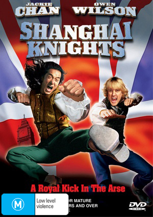 Shanghai Knights on DVD
