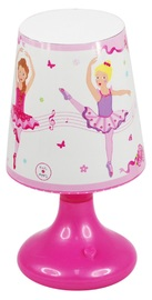 Pink Poppy: Ballerina Colour Changing Lamp