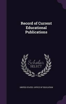 Record of Current Educational Publications image