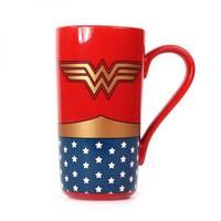 Wonder Woman Latte-Macchiato Mug (Logo)