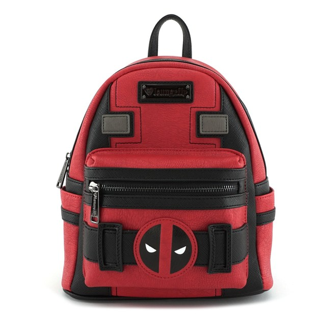 Loungefly Marvel Deadpool Suit Mini Backpack