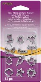 Sculpey Mini Metal Cutters Nature (Pack 12)