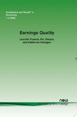 Earnings Quality by Jennifer Francis