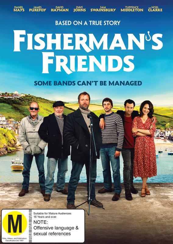 Fisherman's Friends on DVD