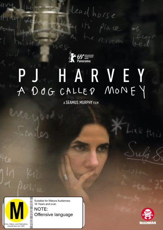 PJ Harvey: A Dog Called Money on DVD