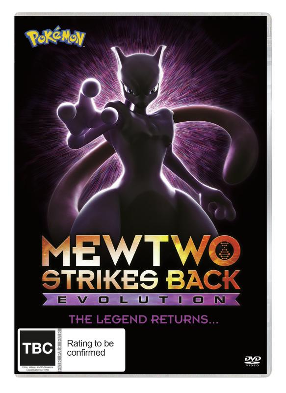 Pokémon Movie 22: Mewtwo Strikes Back - Evolution on DVD
