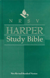 NRSV Harper Study Bible by Verlyn D. Verbrugge image