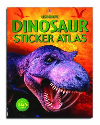 Sticker Atlas Dinosaurs by Gill Doherty
