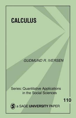 Calculus by Gudmund R Iversen