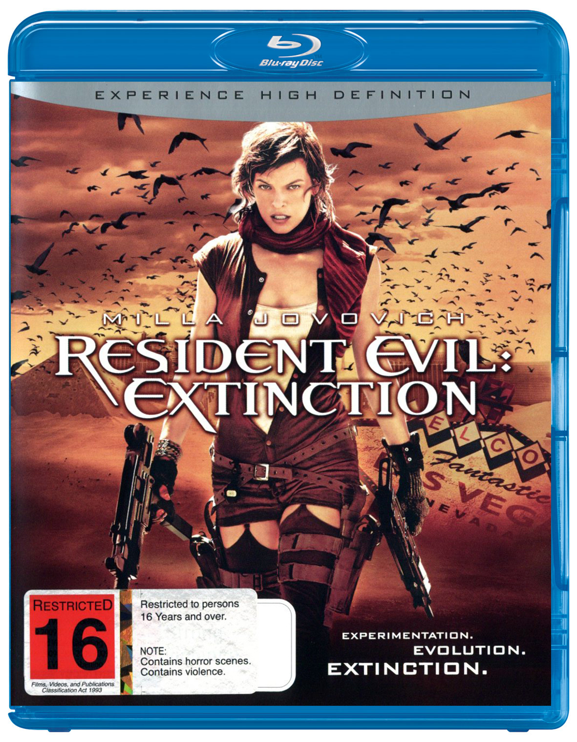 Resident Evil - Extinction on Blu-ray image