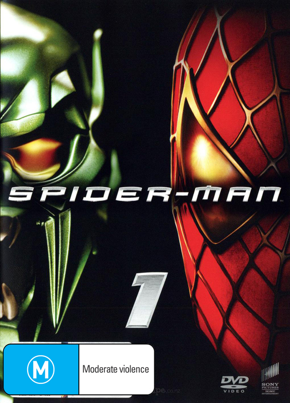 Spider-Man (New Packaging) on DVD