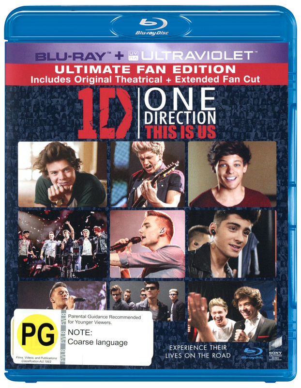 One Direction: This is Us on Blu-ray