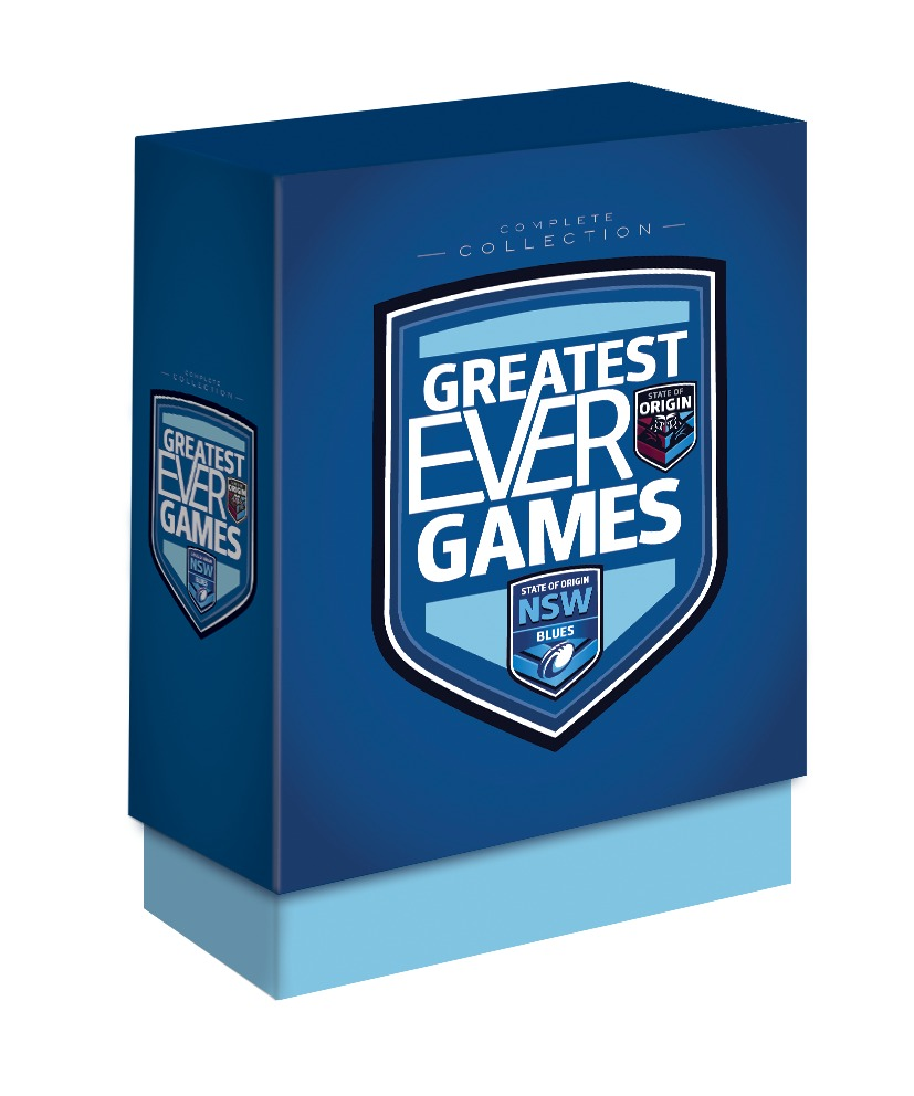 State Of Origin Greatest Ever Games: New South Wales Complete Collection (Limited Edition Box Set) on DVD image