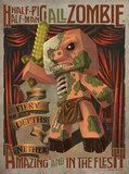 Minecraft - Half Pig Half Man Poster (376)