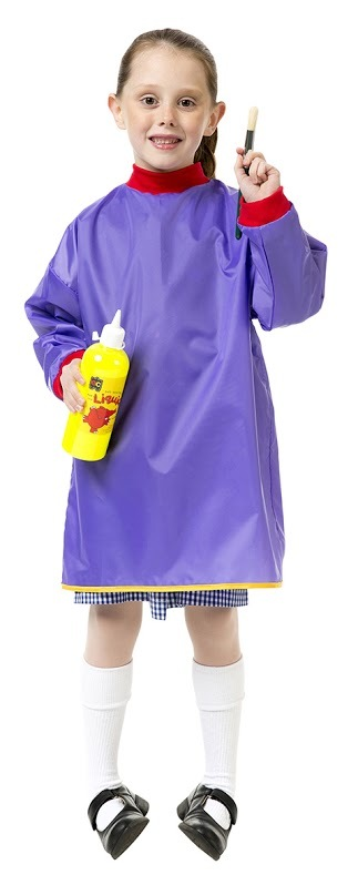 EC Colours - Junior Smock - Purple