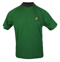Star Trek: Command Green Retro Starfleet T-Shirt - Medium