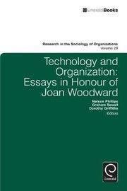 Technology and Organization
