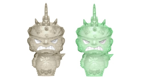 Marvel: Gladiator Hulk (Grey & Green) - Hikari XS Vinyl Figure 2-Pack