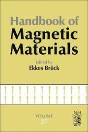 Handbook of Magnetic Materials: Volume 27 image