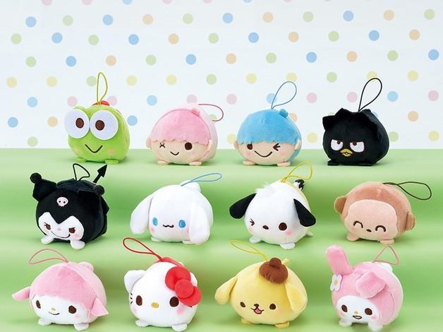 Sanrio Characters Odango Mascot (Assorted)