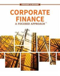 Corporate Finance by Michael Ehrhardt