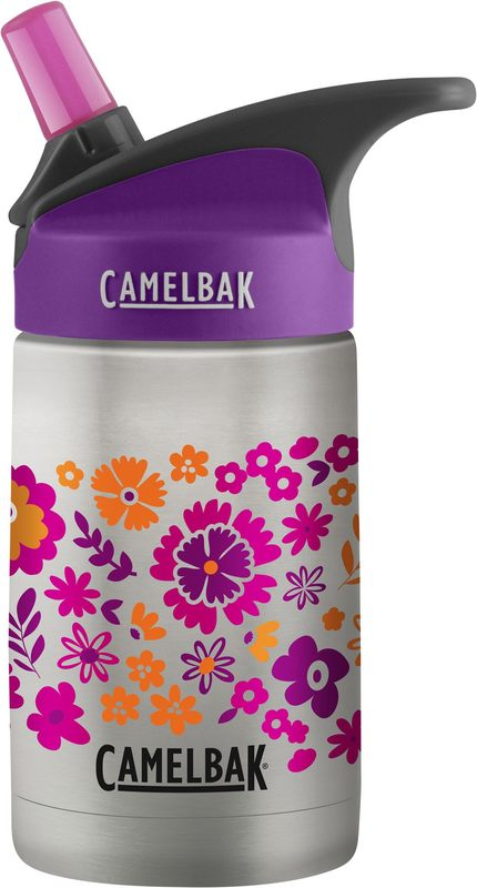 Camelbak: Eddy Kids Vacuum Insulated Stainless Steel Botttle - Retro Floral (355ml)