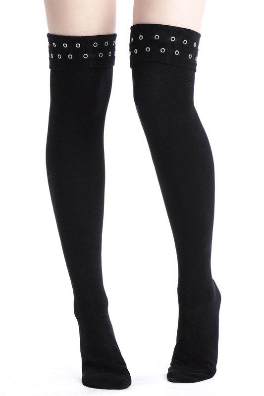 Killstar: Carley Long Socks - One Size